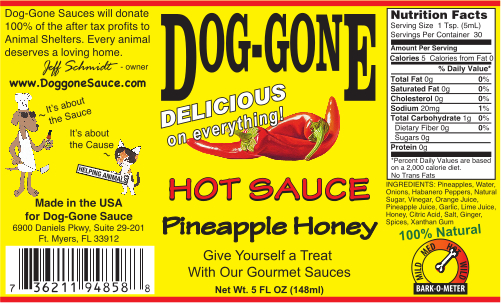 Pineapple Honey Hot Sauce
