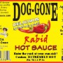 rabid hot sauce label