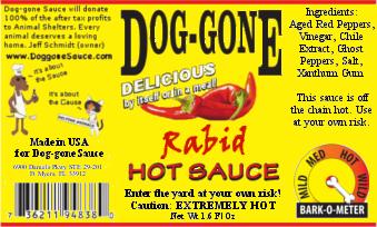 Rabid Hot Sauce