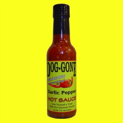 Garlic Pepper Hot Sauce